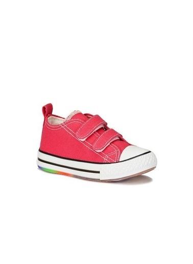 Vicco Vicco Ilk Adım Işıklı Keten Ayakkabı  Kız Bebek Fuşya Fuşya